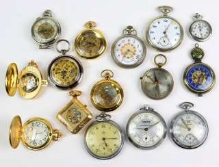 Items, pocket watches, among other things,