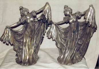 Twin lamps. Modern. 1900-ies