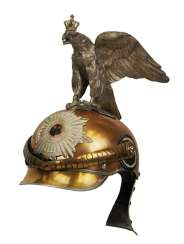 Prussia: helmet M 1889 for teams in the Regiment Garde du Corps.