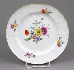Meissen plate *Dulong* to 1760/65