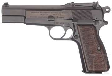 FN GP (Great Power) Modell 35, mit Tasche