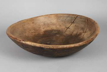 Large farmers wooden bowl