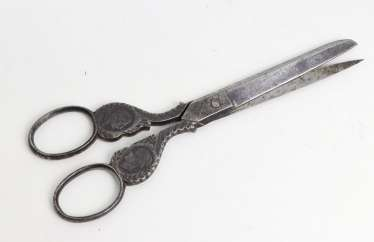 Scissors with the Imperial couple to 1890