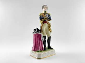 Porcelain figurine Marshal