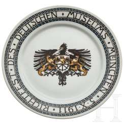 Plate for the Deutsches Museum Munich, dated 1911