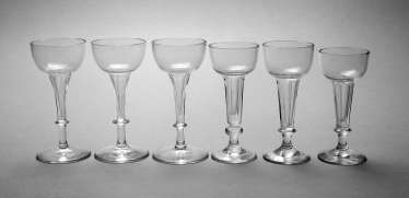 Six Liqueur Glasses