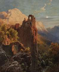 The ruins of Kühbach in Bolzano