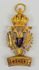 Austria: Imperial order of the Iron crown, knight's cross, 3. Class.