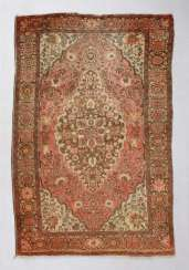 Persian medallion carpet with Blooming
