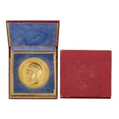 Baden-Durlach - premium Golden medal without year
