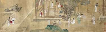 In the style of Qiu Ying (CA. 1494 - approximately 1552)