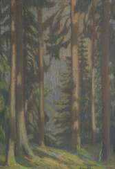 HUTH, Franz: the forest of the interior