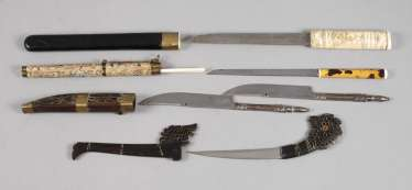 Group Of Daggers, Asia