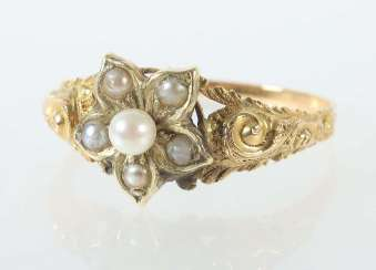 Ladies Ring End Of The 19th Century. Century