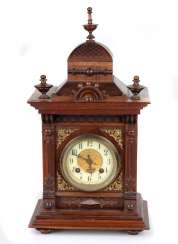 Historicism table clock 1880