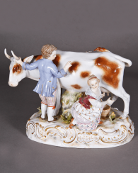Meissen, Germany, mid-nineteenth century, the author of the model. D. Sean