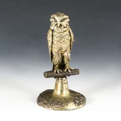 Owl sculpture as a spice shaker