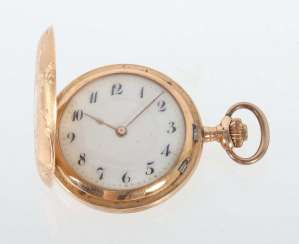 Art Nouveau Ladies Pocket Watch At The Beginning Of 20. Century