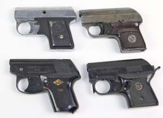 Collection of blank firing pistols 1920/30
