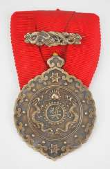 China : order of the Double dragon, 1. Model (1882-1902), 3. Class 3. Degree.