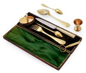 Travel Cutlery in a case