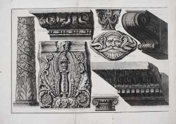 Giovanni Battista Piranesi(1720-1778)graphic , Roman monuments, etching on paper, 18. century
