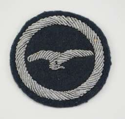 Glider pilot badge A - embroidered like an officer.