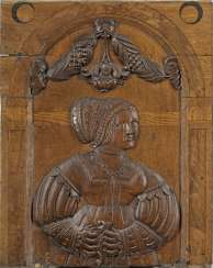 Pair of large Renaissance-relief panels