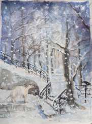 winter tale about the dog