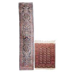 Group Of 2 Oriental Carpets, 20. Century: