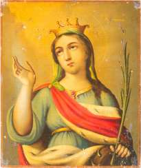 ICON OF THE HOLY MARTYR CATHERINE