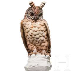 August Göhring (1891-1965) - large owl from the Nymphenburg porcelain factory