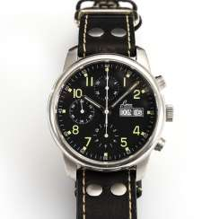 Automatic men's wristwatch with chronograph