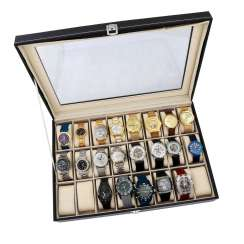 LOT box with 21x watches.
