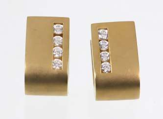 Design Earrings - Yellow Gold 375