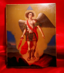 The icon of Archangel Michael, 19th century