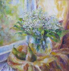 Lilies and pears
