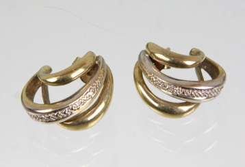 Brilliant Hoop Earrings - White Gold 333