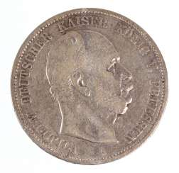 5 Mark Wilhelm of Prussia 1875A