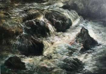 Mountain stream (Mount river)