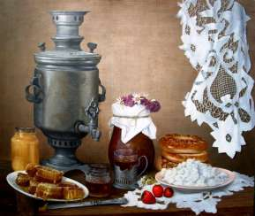 Still life with a samovar