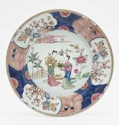 A Pair Of Plates, China, 18. Century