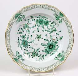 Meissen Dish *Indian Painting*