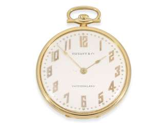Pocket watch: exquisite Art Deco Frackuhr-quality