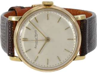 Watch: IWC mens watch 1957, 18K Gold