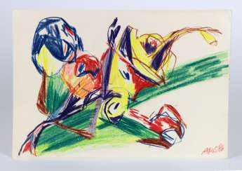 Color Drawing - Stelzer, Andreas 1986