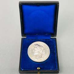 Silver medal of the `committees for public health and the Hygiene of the Prefecture of police of PARIS. France 19. Century