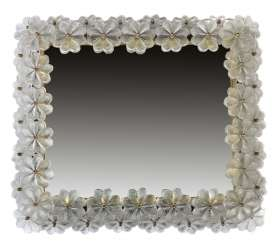 Lighted wall mirror, Italy