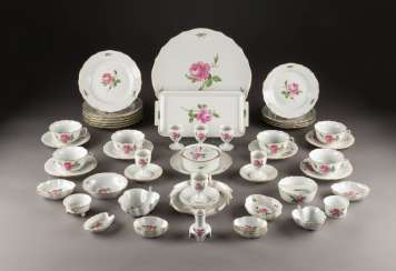 64-PIECE COFFEE / TEA AND BREAKFAST SERVICE 'RED ROSE'