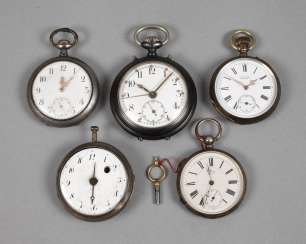Five Pocket Watches